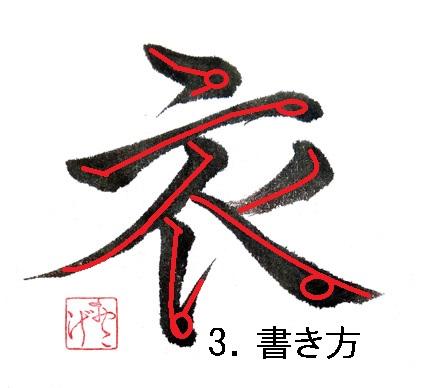 3.書き方